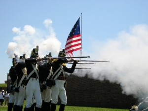 Fort Musket shooting